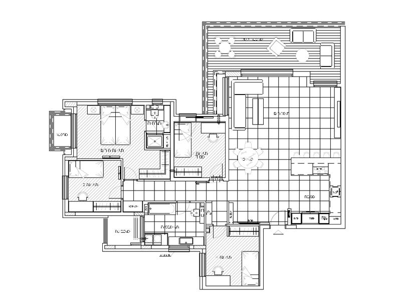 תכנון דירה - מלי לוי אלבוים מעצבת פנים מקצועית. תכנון דירה מחדש ועיצוב דירות